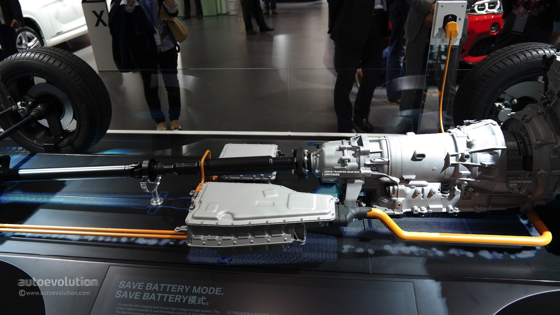 Bmw Exposed The Powertrain Of The New X5 Xdrive40e Plug In