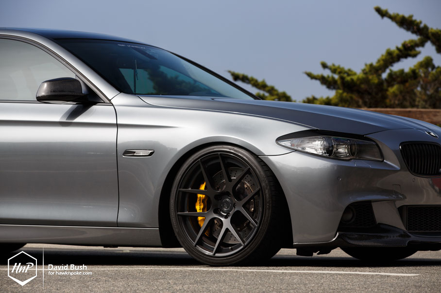 bmw f10 5 series looking good on bc forged wheels