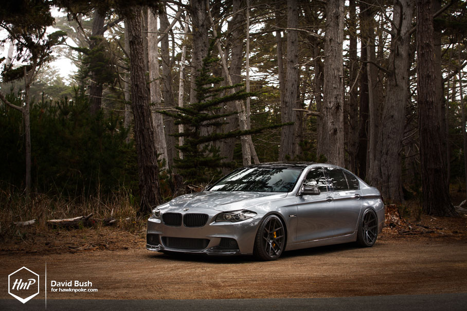 BMW Aftermarket Parts >> BMW F10 5 Series Looking Good on BC Forged Wheels ...