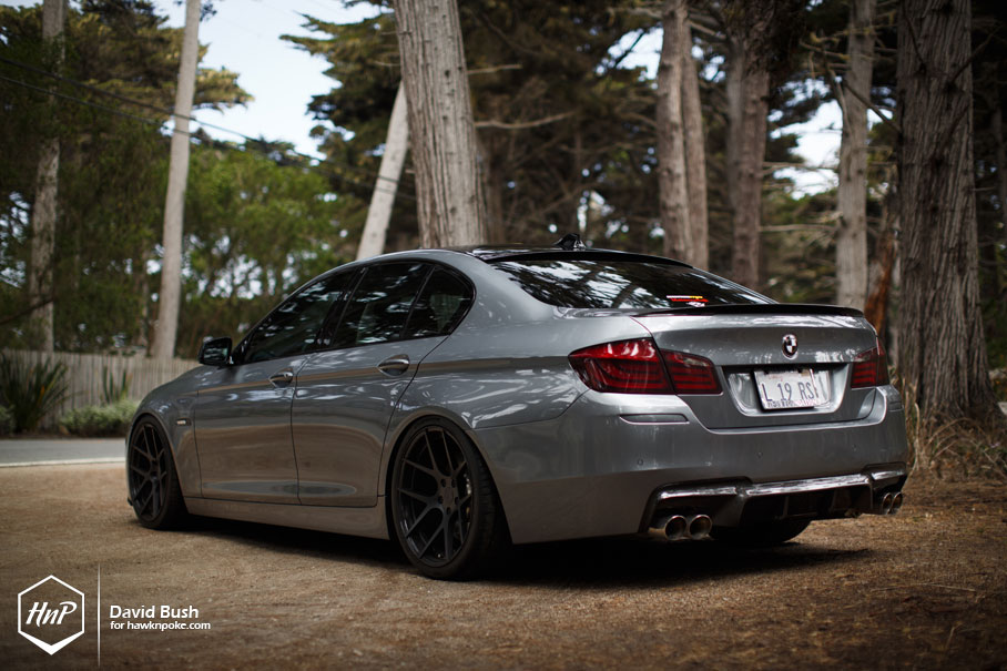 Bmw F10 5 Series Looking Good On Bc Forged Wheels Autoevolution