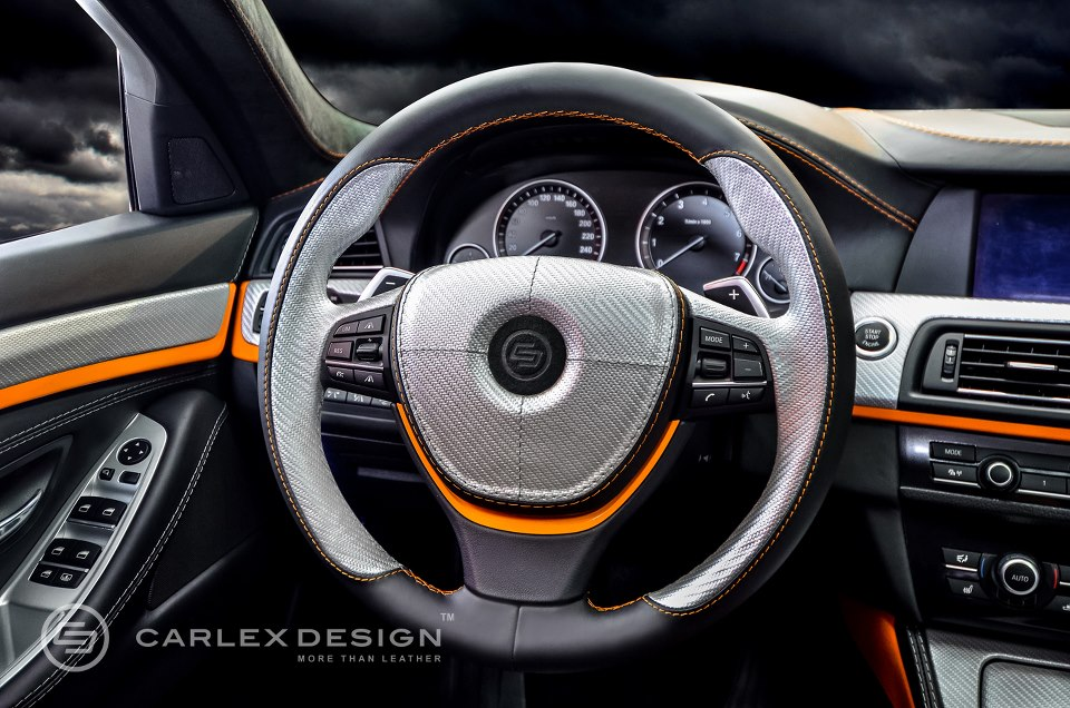 BMW 5 Series The Ripper Custom Interior From Carlex Design