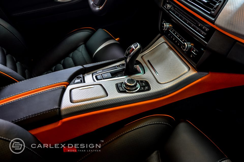 bmw 5 series 39 the ripper 39 custom interior from carlex design autoevolution. Black Bedroom Furniture Sets. Home Design Ideas