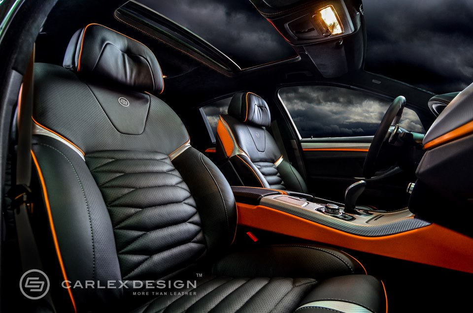 bmw 5 series 39 the ripper 39 custom interior from carlex design autoevolution
