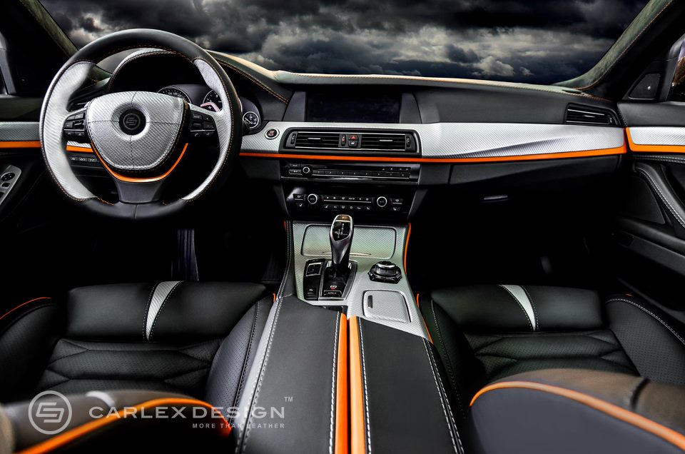 BMW 5 Series 'The Ripper' Custom Interior from Carlex Design - autoevolution