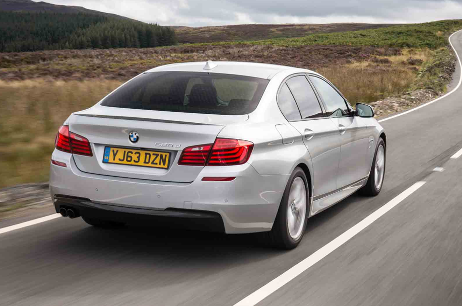 BMW F10 518d LCI First Drive Review By Autocar Autoevolution