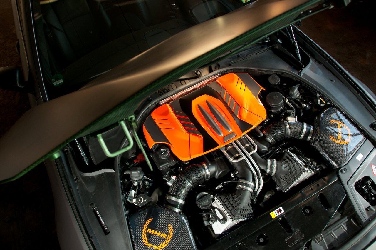 Bmw F10 M5 Manhart Racing Mh5 S Biturbo Autoevolution