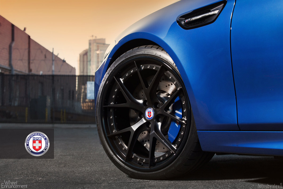 Bmw F10 M5 Has Black Wheels And Blue Calipers Autoevolution