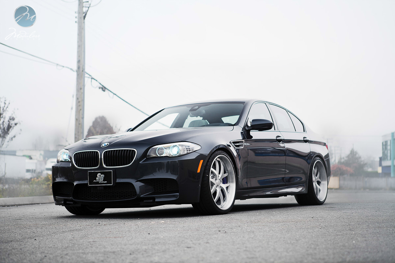 bmw f10 m5 looks weird on modulare wheels autoevolution. Black Bedroom Furniture Sets. Home Design Ideas