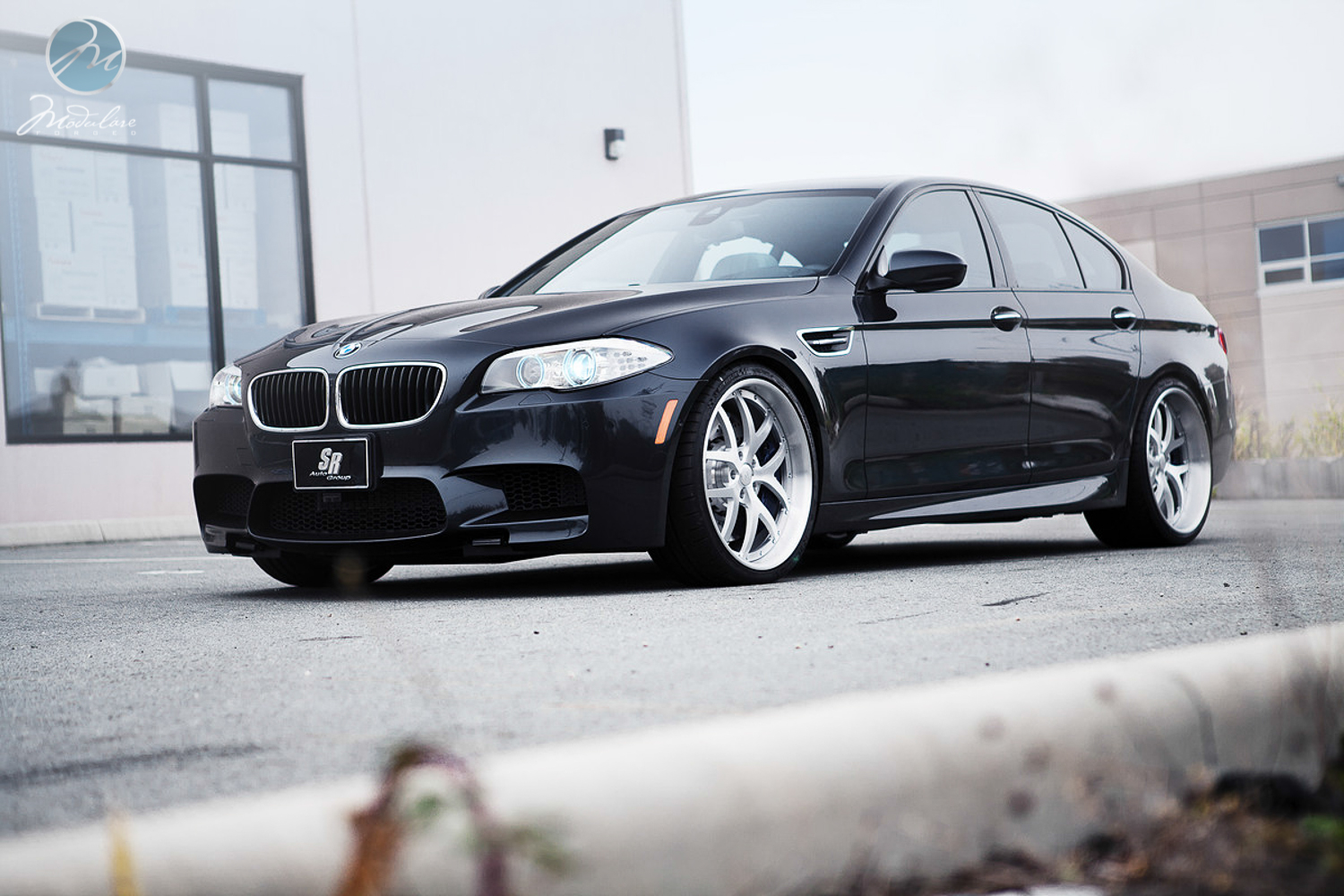 Bmw F10 M5 Looks Weird On Modulare Wheels Autoevolution