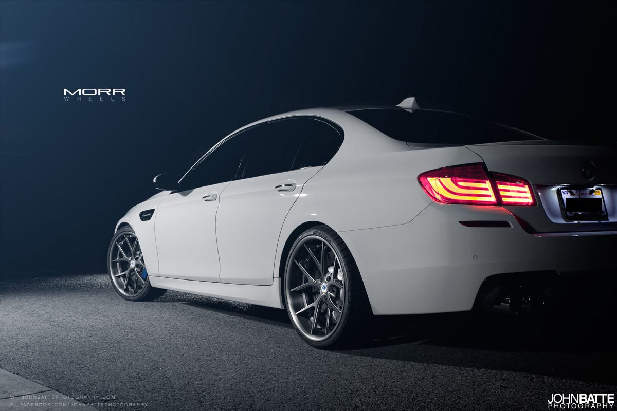 "BMW F10 M5 on 21"" MORR Multiforged MS5.2 - autoevolution"
