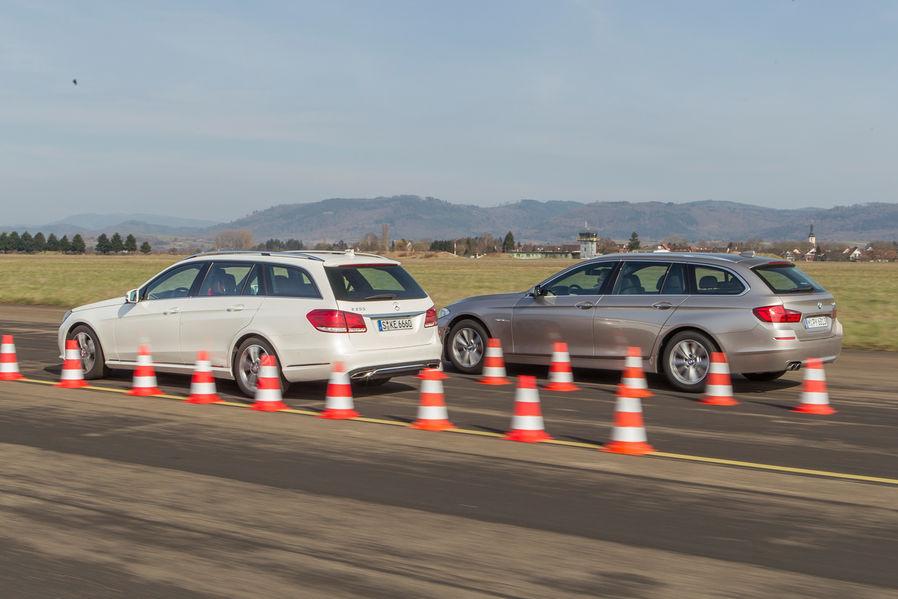 Bmw F I Touring Vs Mercedes Benz E Estate Review on Mercedes Sl R129 320 Test 1