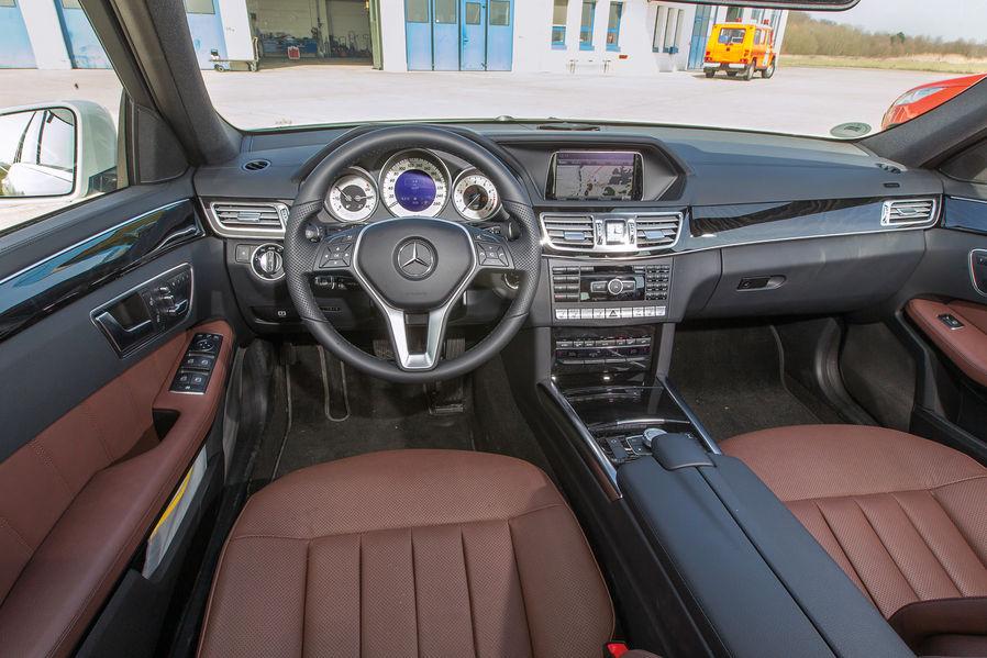 BMW F11 520i Touring vs Mercedes-Benz E200 Estate ...