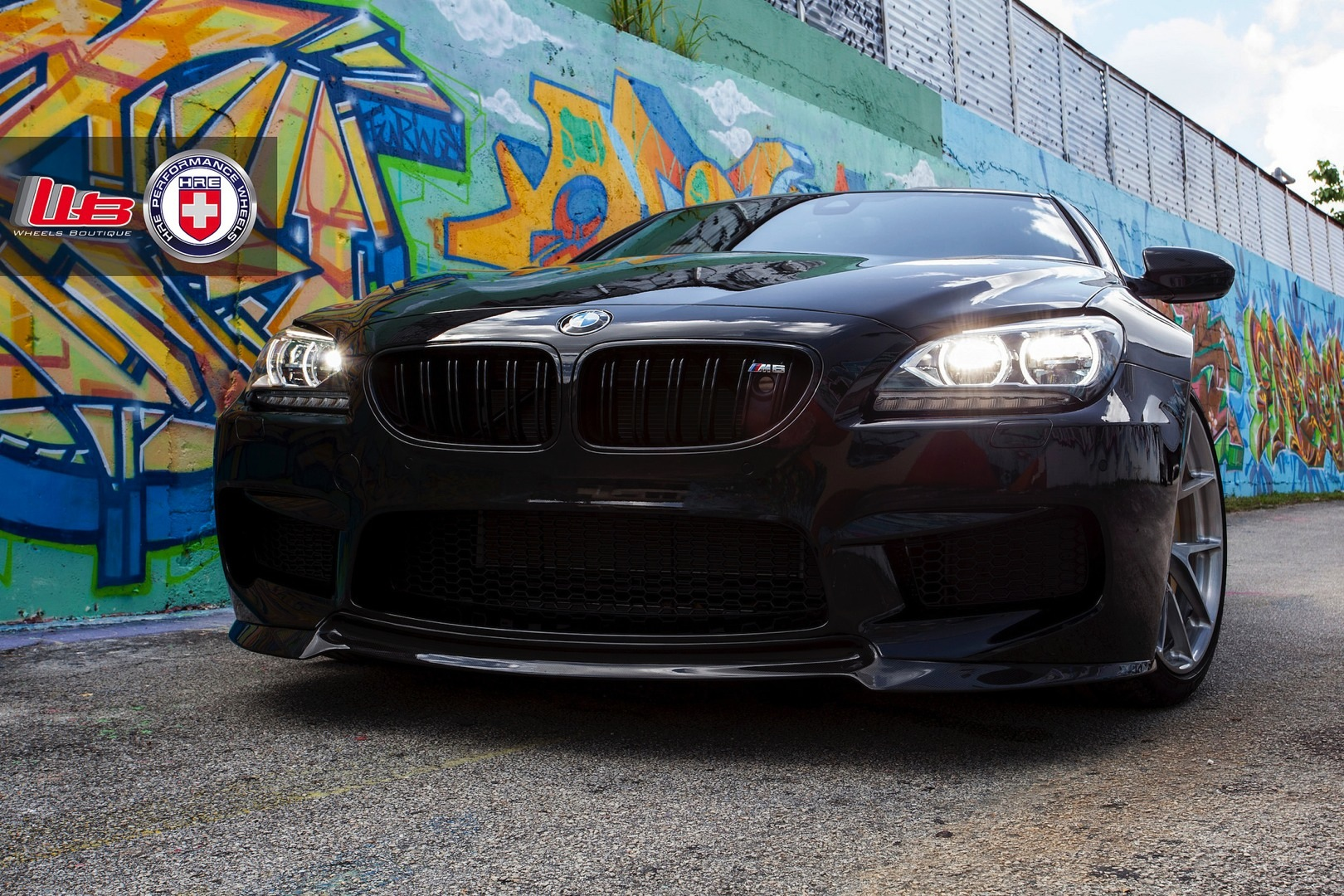 bmw f13 m6 coupe looks expensive on hre wheels autoevolution. Black Bedroom Furniture Sets. Home Design Ideas