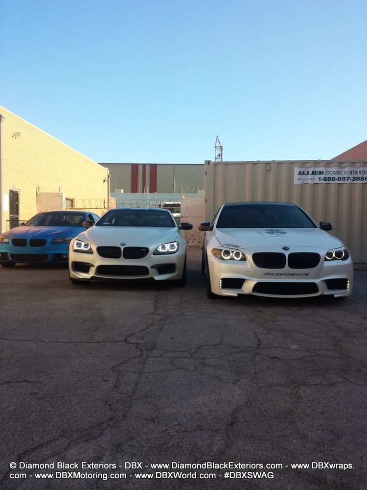 BMW F13 M6 Wrapped in Satin Pearl White [Photo Gallery]