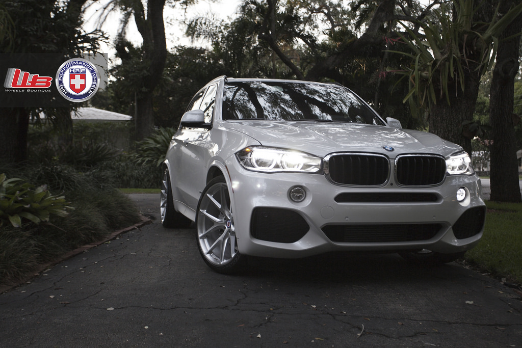 Bmw F X Looks Squeaky Clean On Hre Wheels Photo Gallery