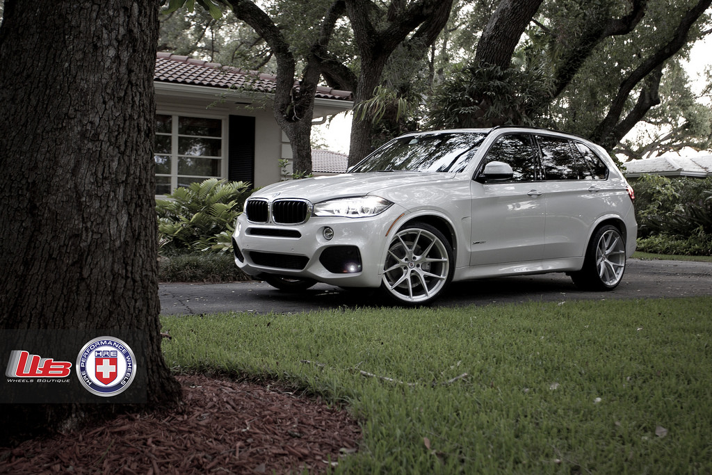 Bmw F15 X5 Looks Squeaky Clean On Hre Wheels Autoevolution