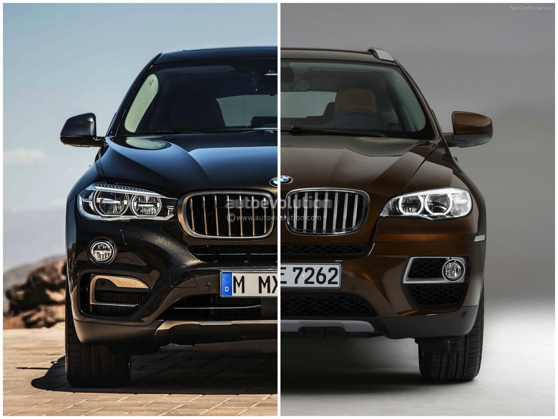 BMW F16 X6 vs BMW E71 X6 Photo Comparison - autoevolution