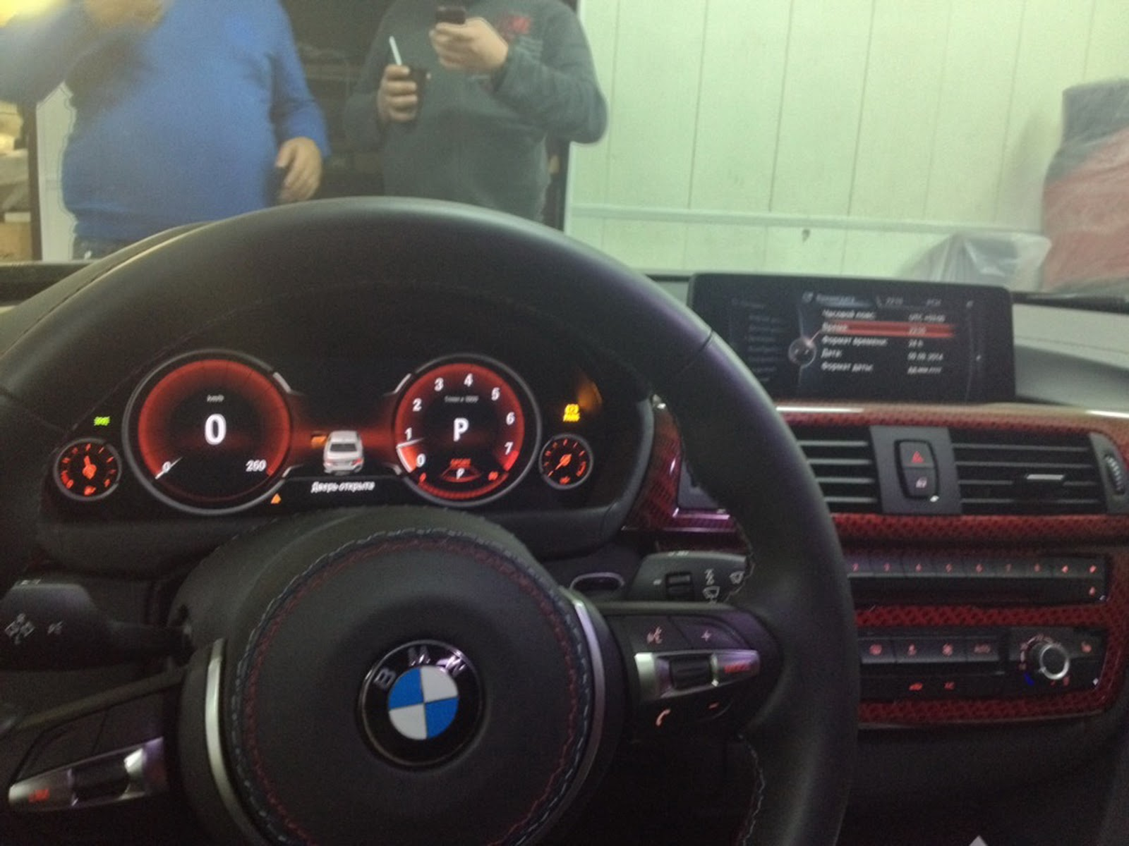 bmw f30 3 series spotted in the wild wearing fully digital instrument cluster autoevolution. Black Bedroom Furniture Sets. Home Design Ideas