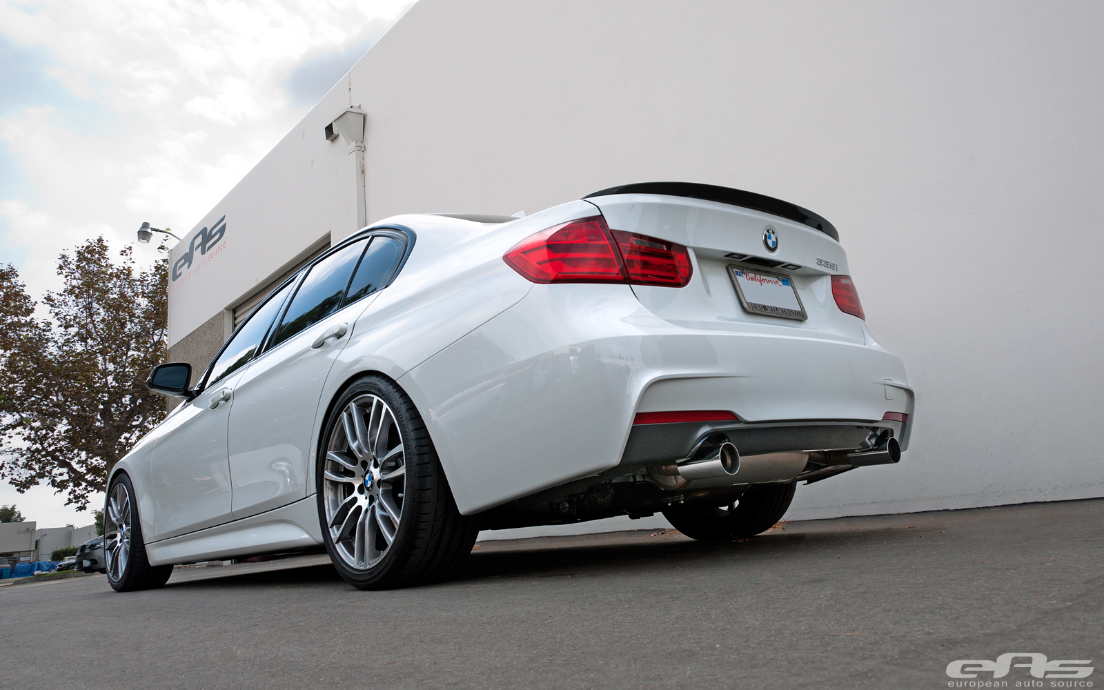 Bmw F30 335i Gets Bilstein Coilovers At Eas Autoevolution