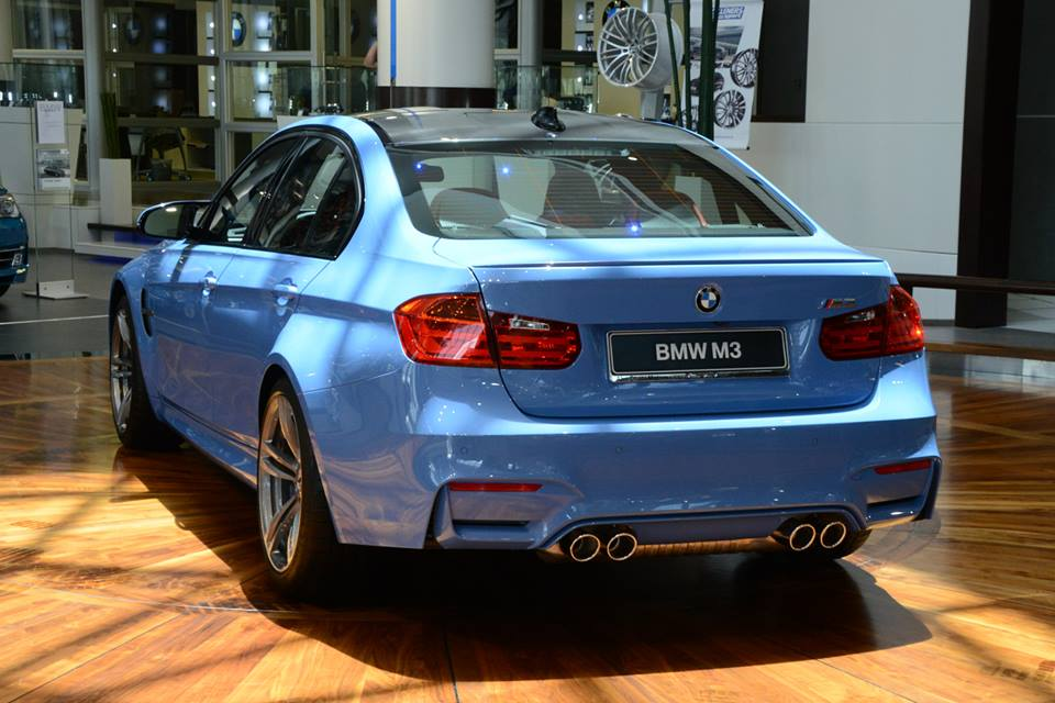 Bmw F80 M3 Shows Up In Abu Dhabi Dealership Autoevolution