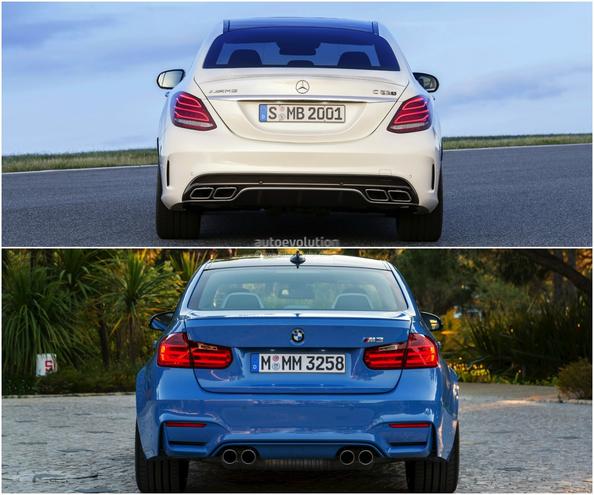 BMW F80 M3 Vs Mercedes-AMG C 63: Sports Saloon Comparison