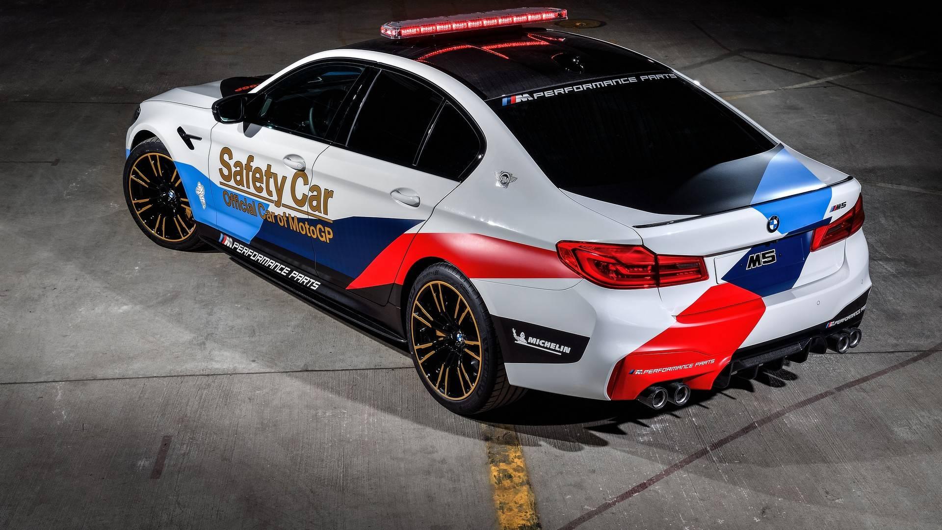 BMW F90 M5 Chosen As 2018 MotoGP Safety Car, Previews M5 M Performance Parts - autoevolution