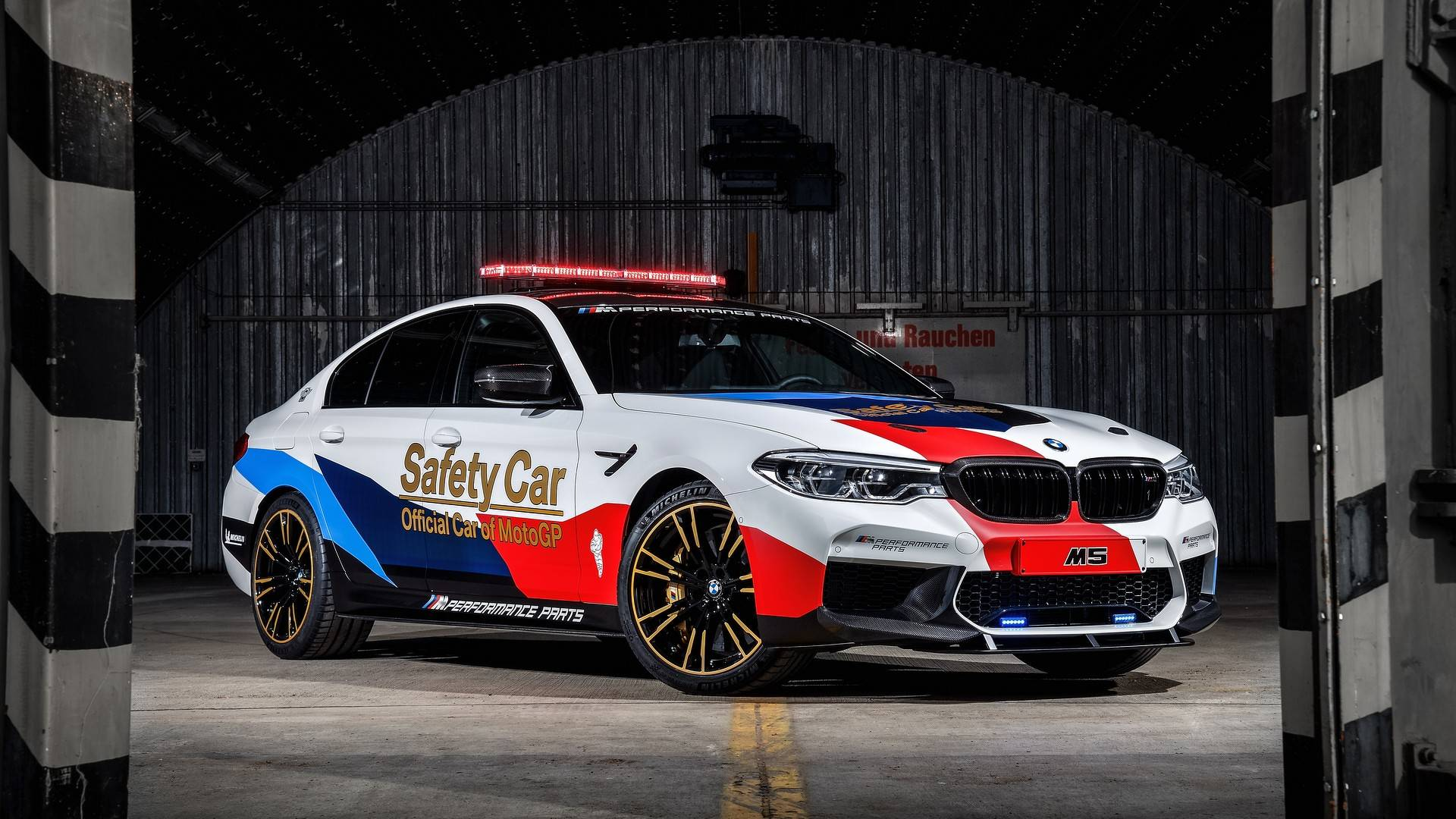 BMW F90 M5 Chosen As 2018 MotoGP Safety Car, Previews M5 M ...