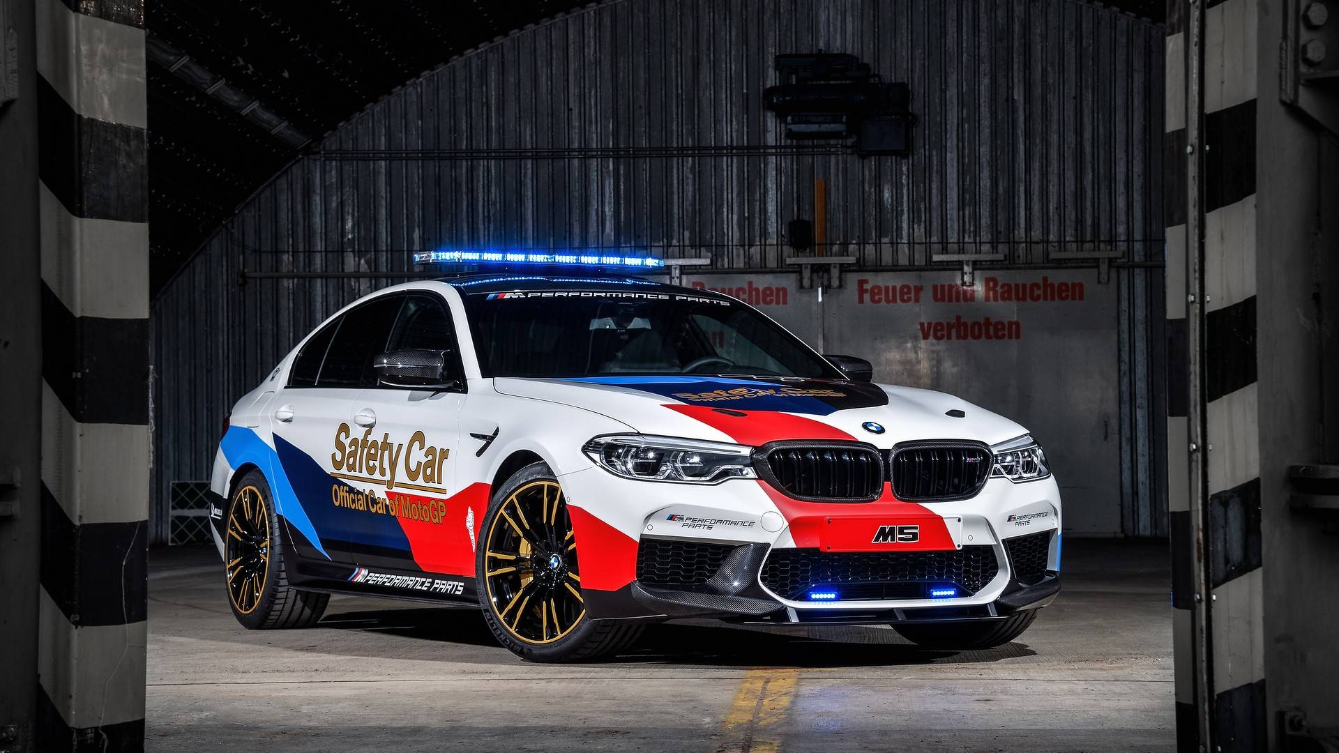 bmw f90 m5 chosen as 2018 motogp safety car previews m5 m. Black Bedroom Furniture Sets. Home Design Ideas