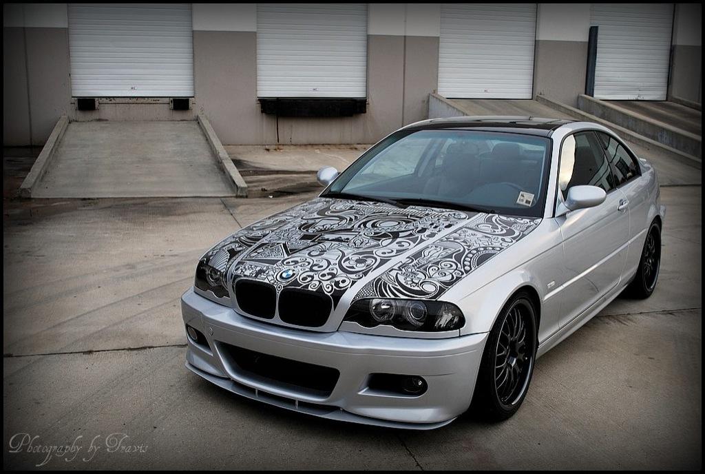 BMW Fan Created His Own BMW Art Car - autoevolution
