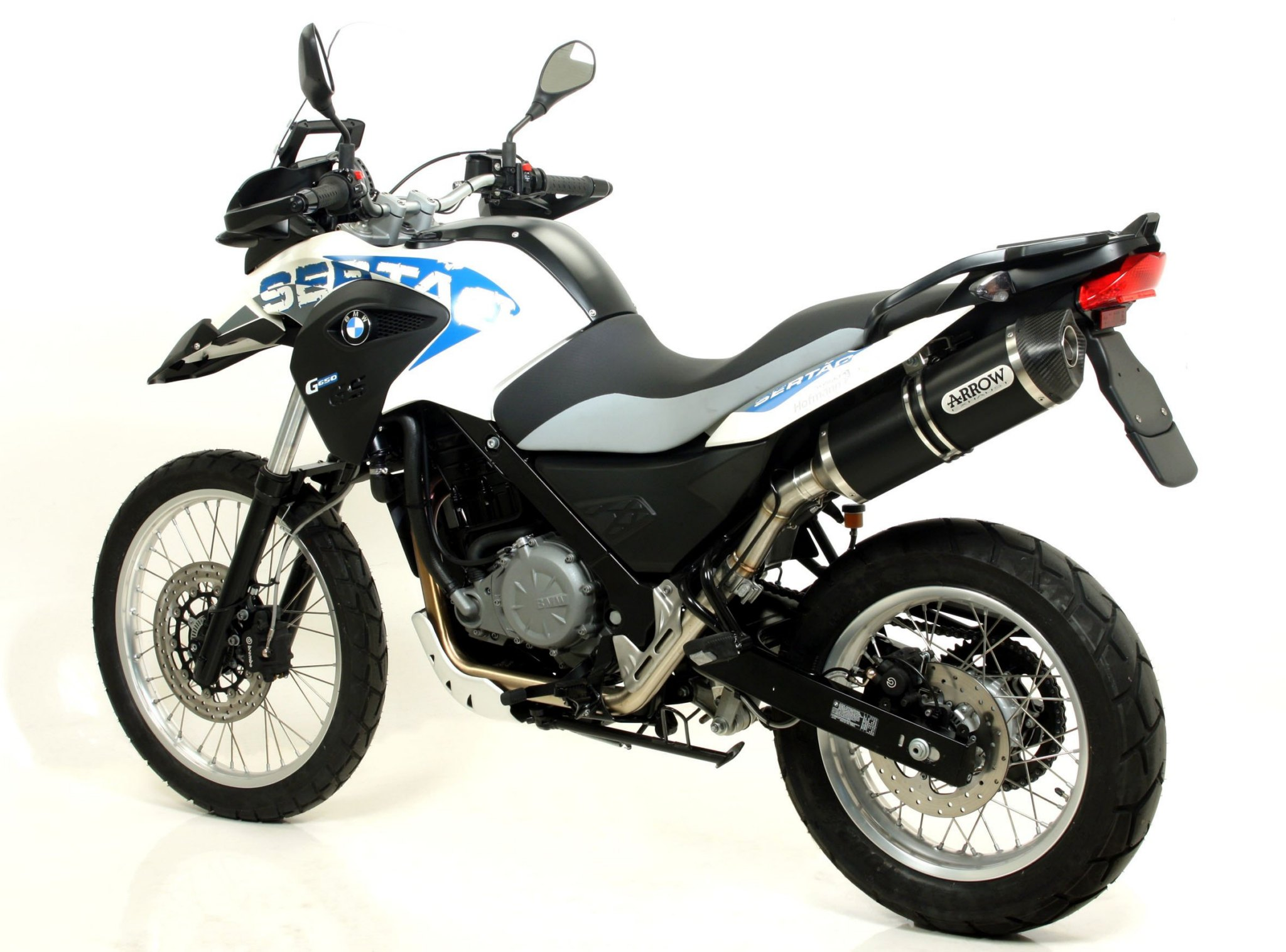 Bmw G650gs Sertao And F700gs Receive New Arrow Exhausts