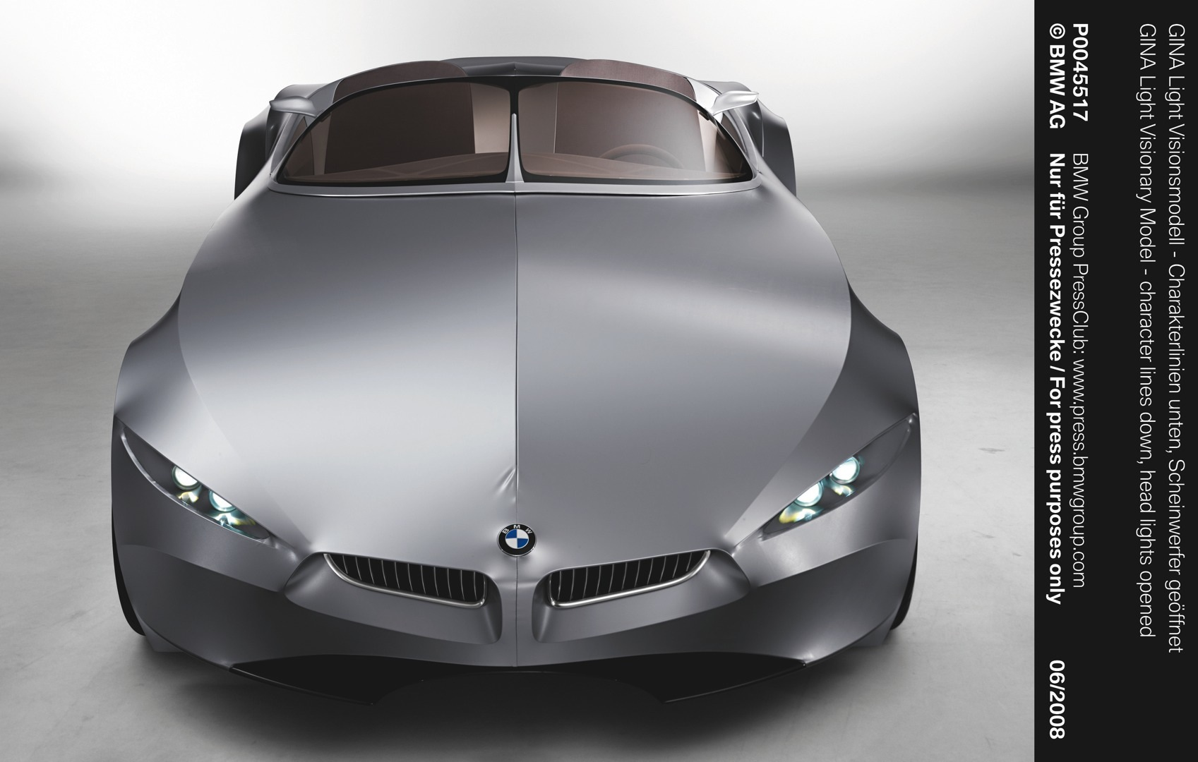 Bmw Gina Concept To Be Showcased At Dream Cars Exhibition Photo Gallery