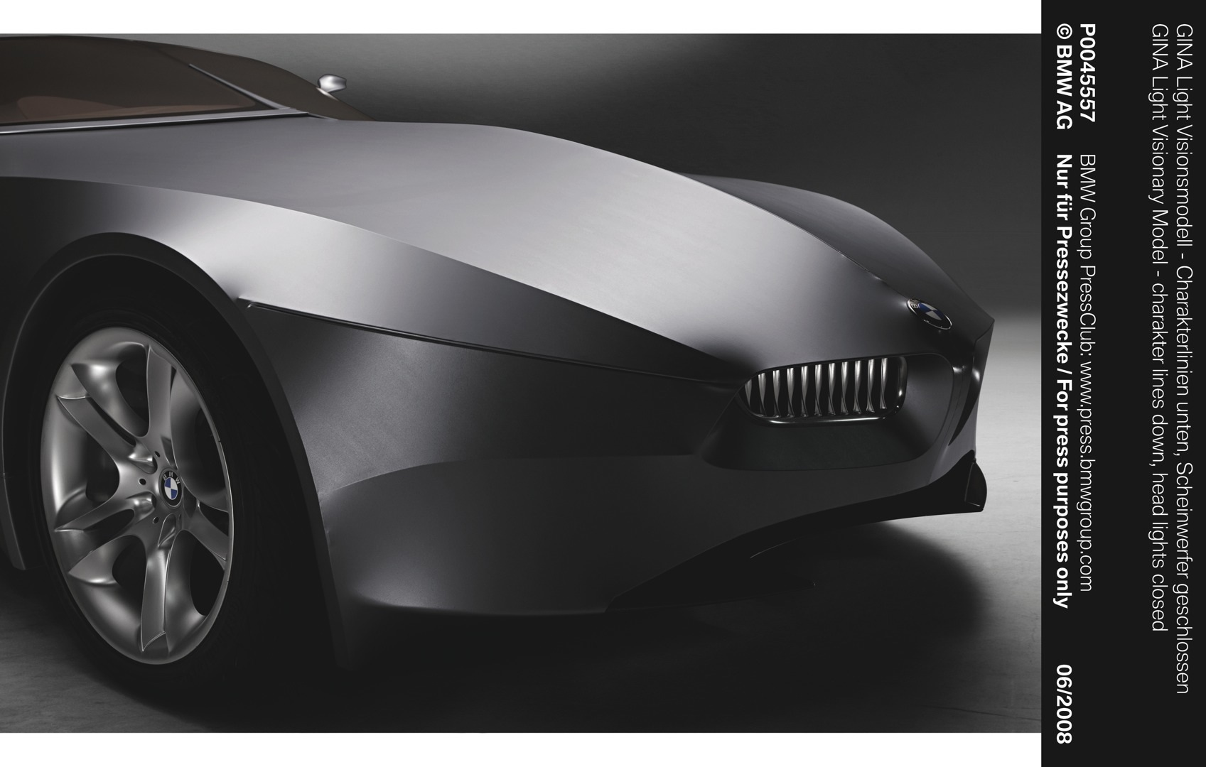 Bmw Gina Light Visionary Model Concept (50 Images) - HD Car Wallpaper