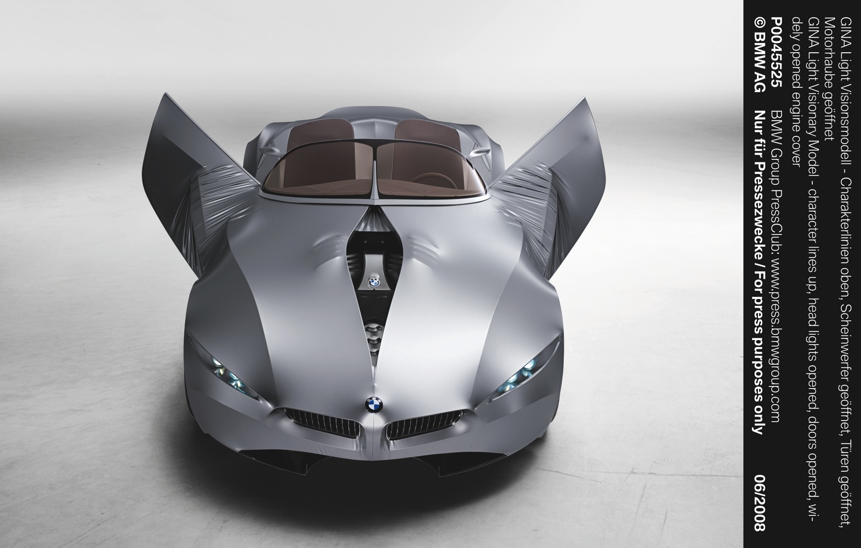 "BMW GINA Concept to Be Showcased at ""Dream Cars"" Exhibition ..."