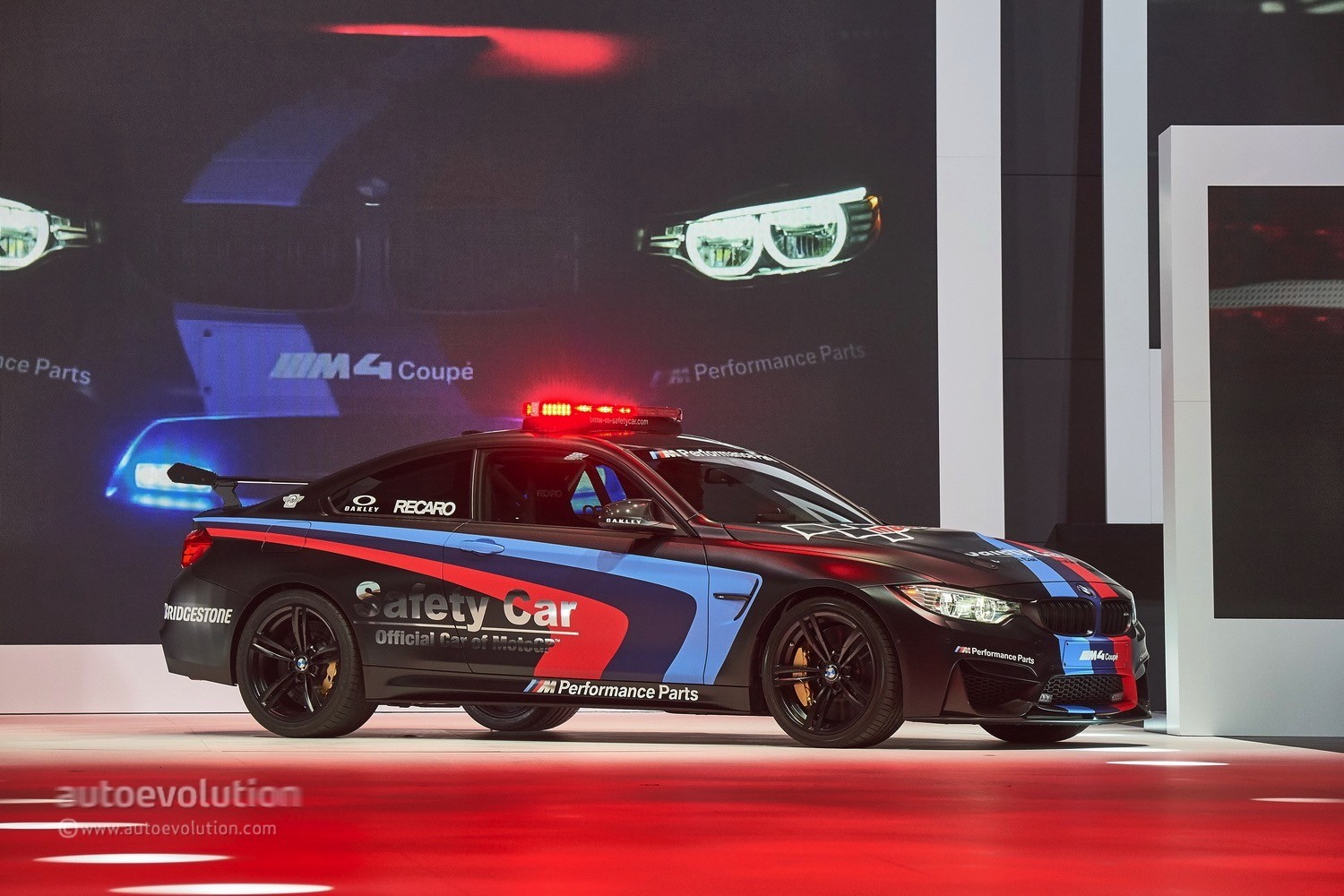 ... BMW M4 Safety Car At The Geneva Motor Show 2015 ...