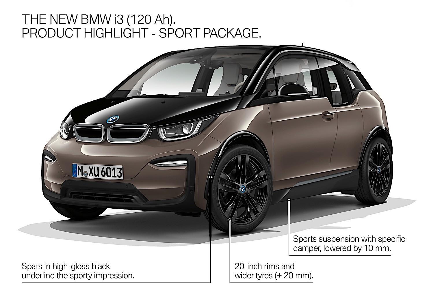 bmw i3 gets longer range with new 120 ah battery sport. Black Bedroom Furniture Sets. Home Design Ideas