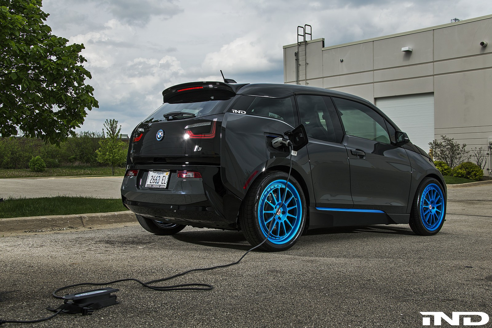 Bmw I3 Tuned By Ind Distribution Looks Meaner Than Usual