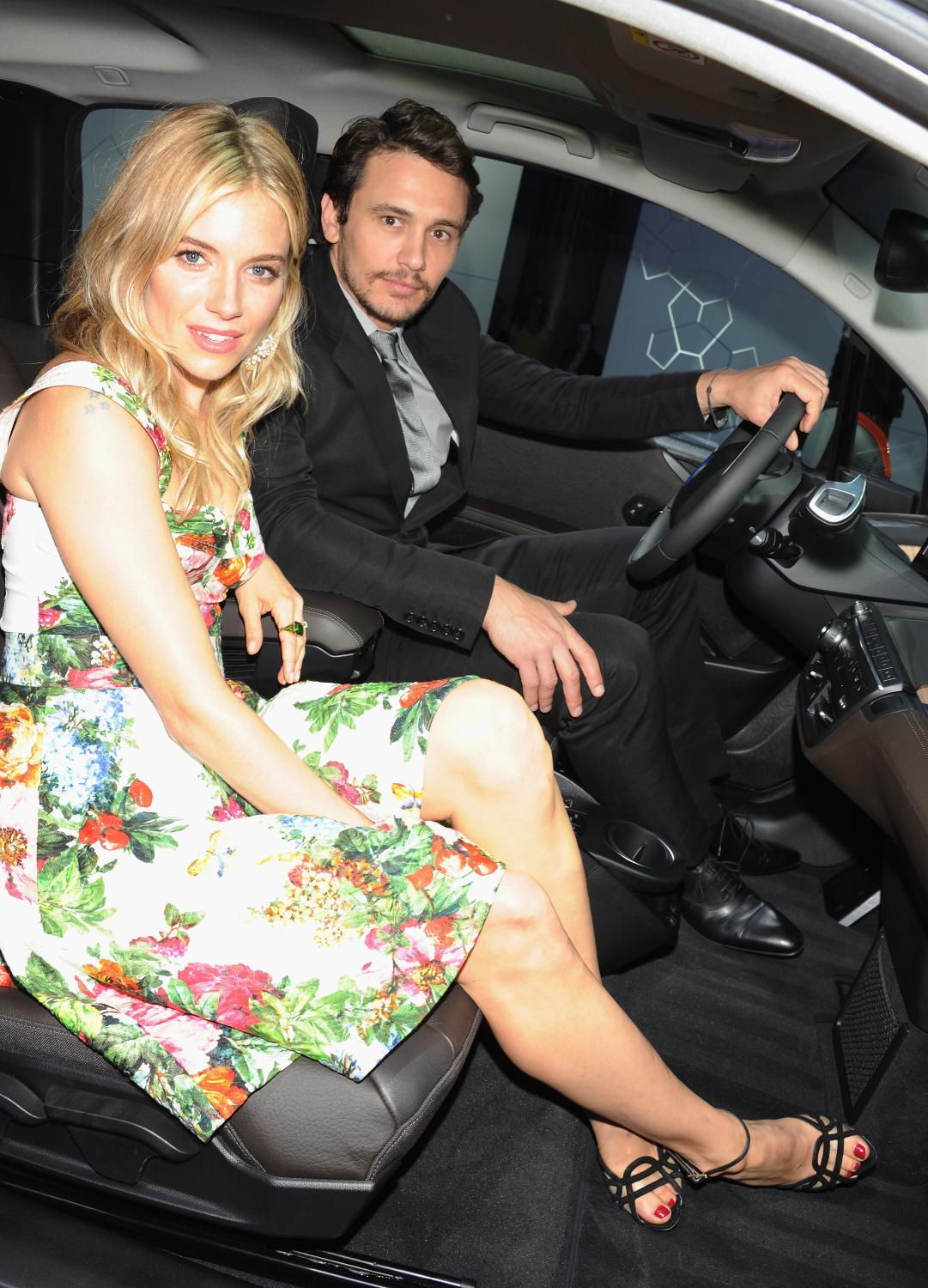 Bmw I3 Welcomed By Sienna Miller And James Franco In London Autoevolution