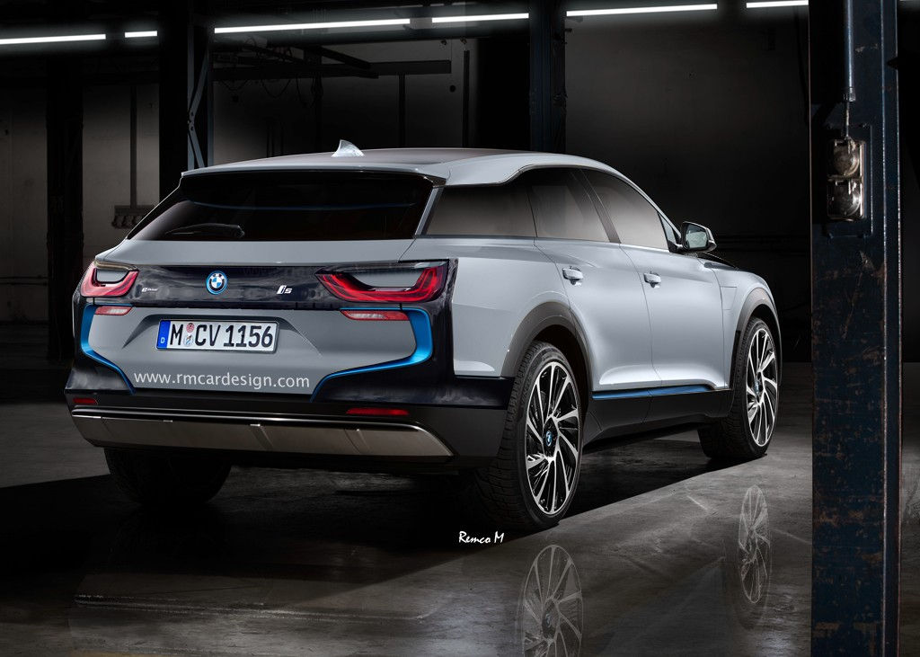 Bmw I5 Suv Rendering Looks Modern And Tough Autoevolution