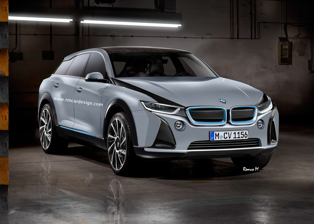 Bmw I5 Suv Rendering Looks Modern And Tough