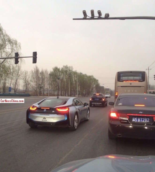 Bmw I8 And M4 Spotted Testing In China Autoevolution