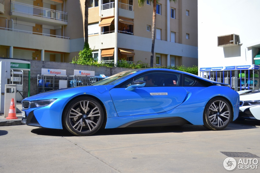 Bmw I8 Duo Spotted In France Autoevolution
