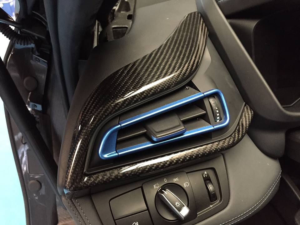 Bmw I8 Gets Alcantara And Carbon Fiber Treatment From
