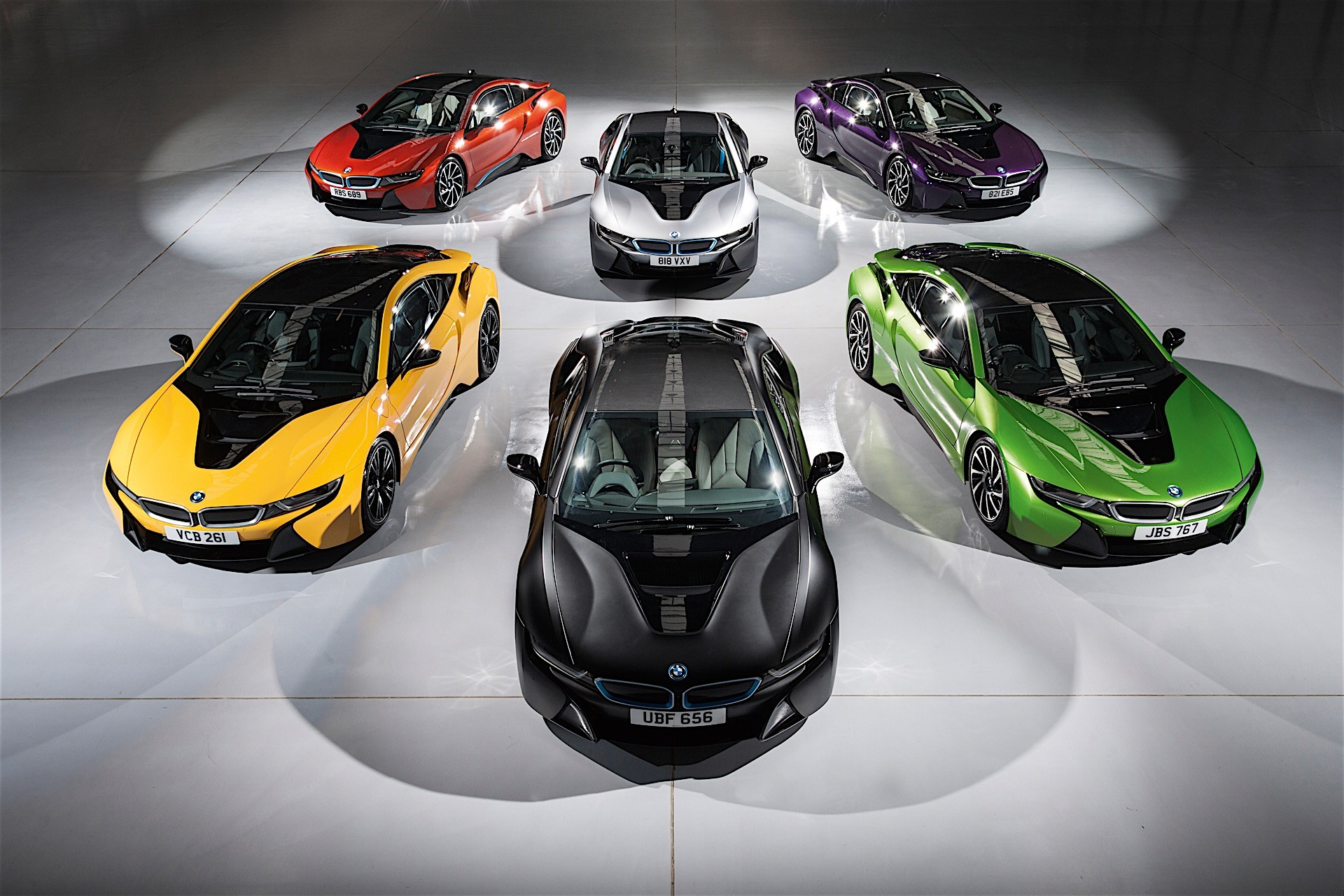 Bmw I8 Gets Individual Exterior Paint Options In The Uk Autoevolution
