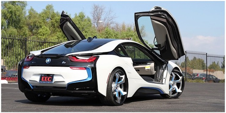 Bmw I8 On Forgiato Wheels Yay Or Nay Autoevolution
