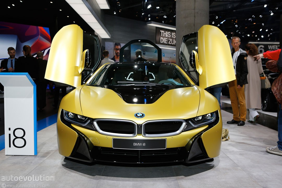 Bmw I8 Protonic Frozen Yellow Edition Is Yellow Not Sure About