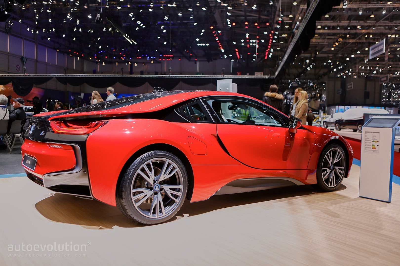 BMW i8 Protonic Red Edition Is the Beginning of Something ...