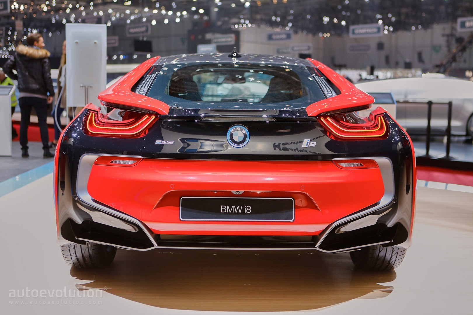 Bmw I8 Protonic Red Edition Is The Beginning Of Something Hot In