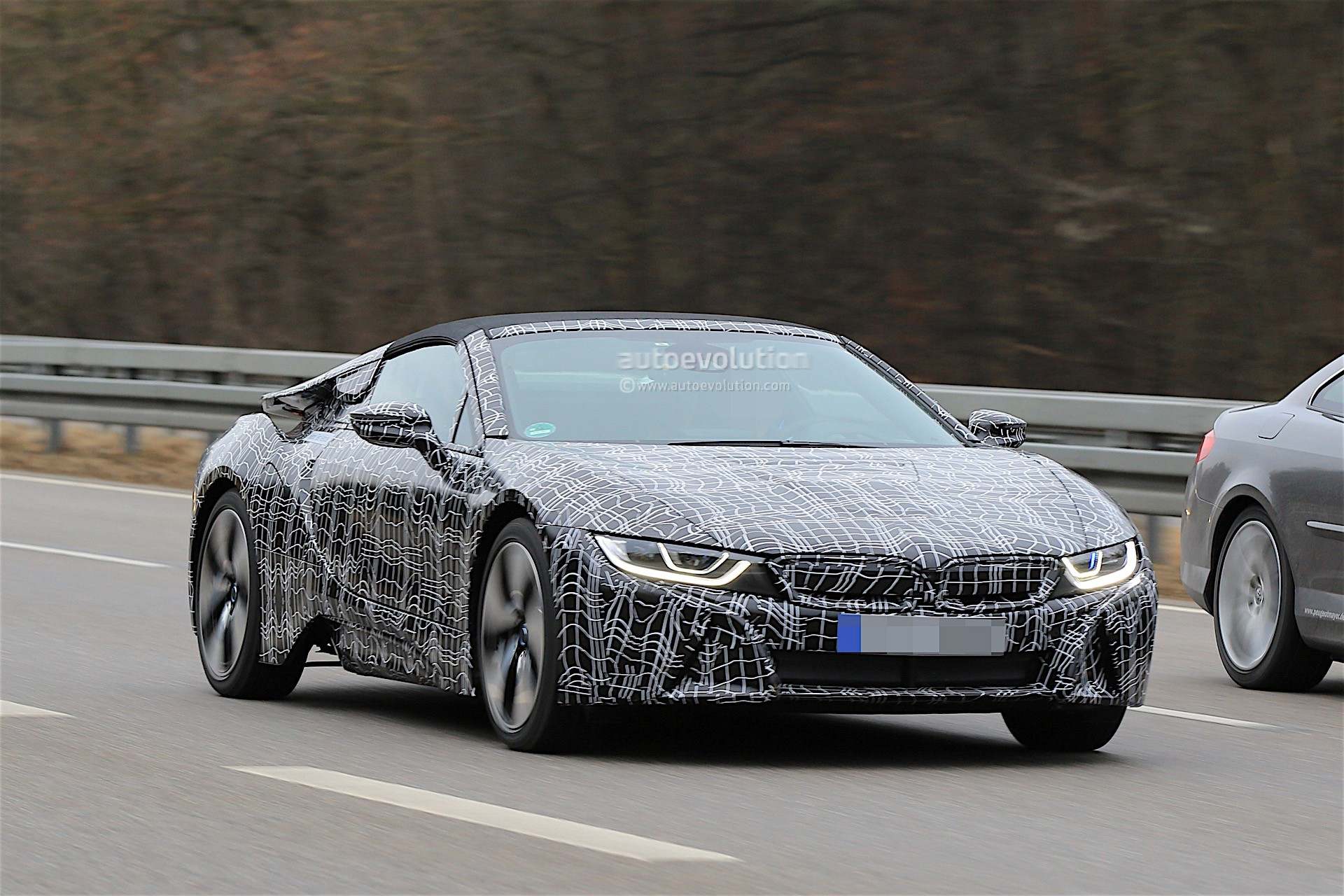 Bmw I8 Roadster Confirmed Through Teaser Deliveries Start In 2018