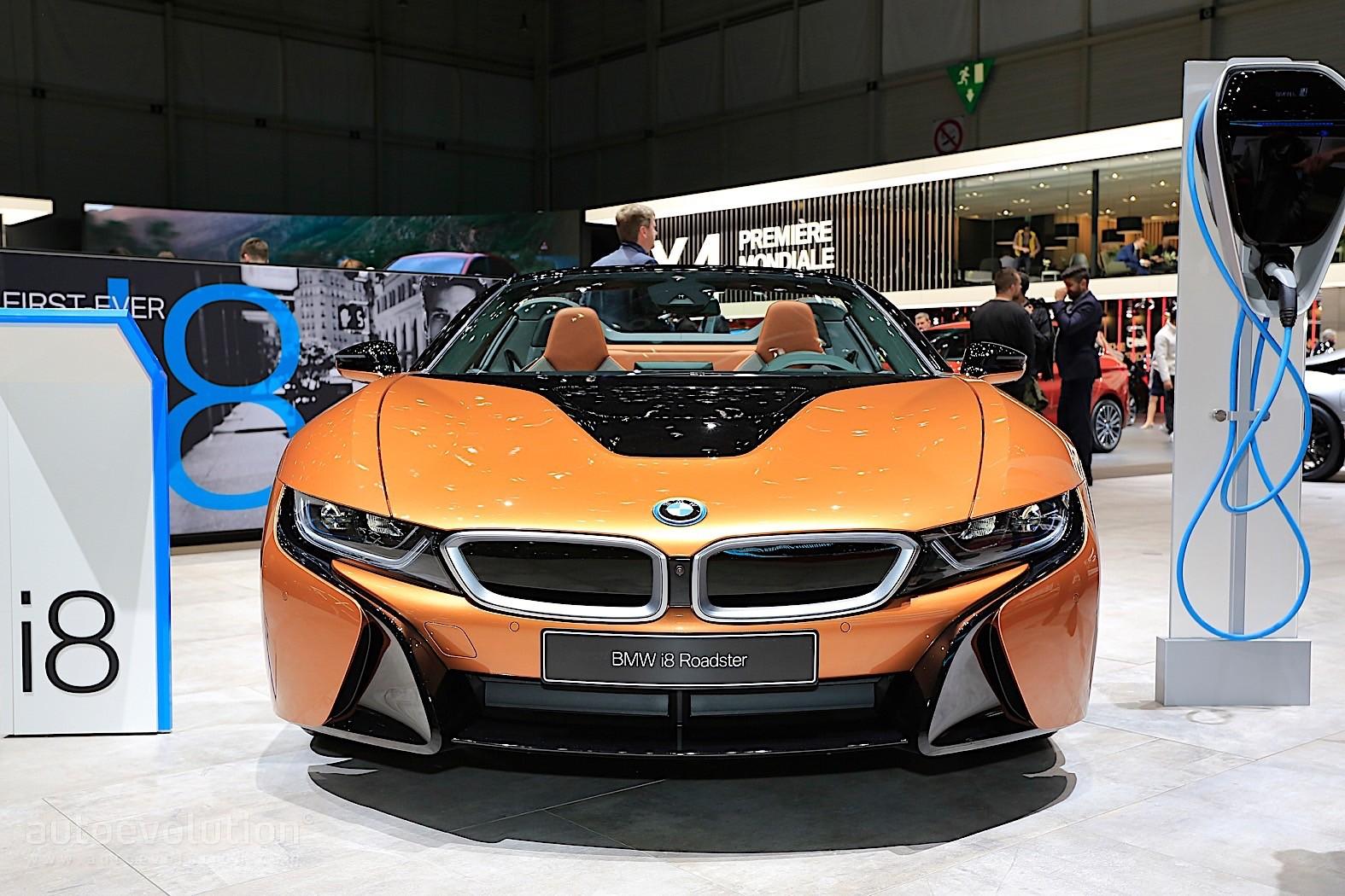 Bmw I8 Roadster Meets Its Fans In Geneva Autoevolution