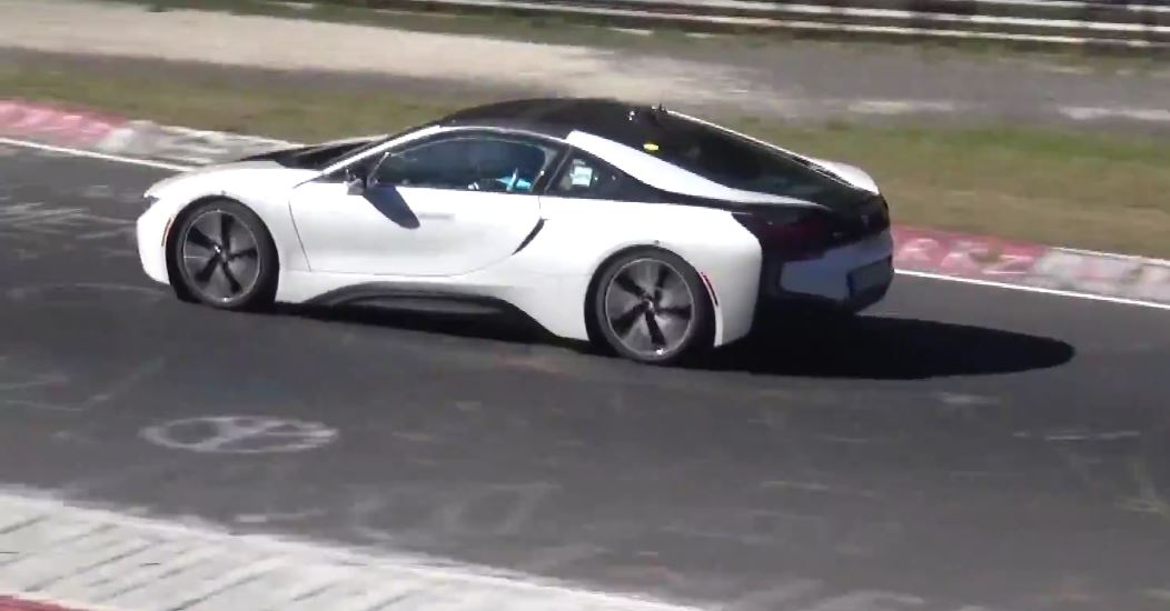 Bmw I8 Roadster Shows Up On Nurburgring Gets Closer To Production